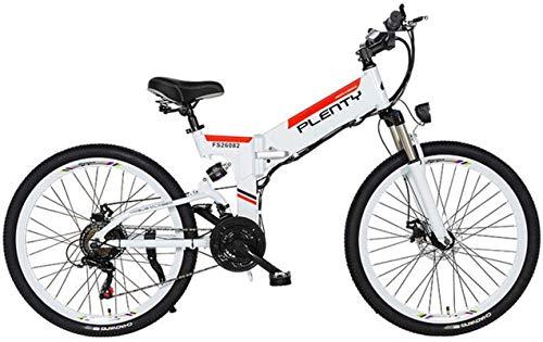 RDJM Bici electrica Eléctrica de Bicicletas de montaña, 24