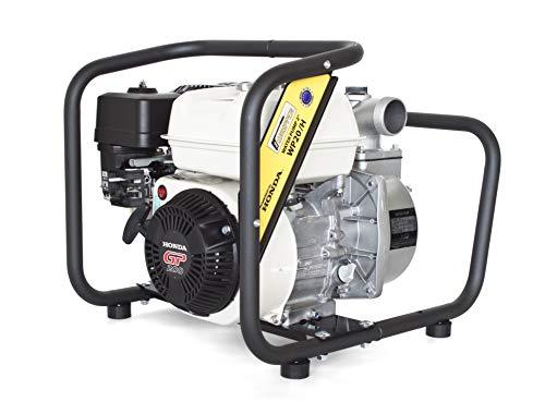 Honda GP200 Hochleistungs & Tragbare Benzin Reinwasserpump mit 21 000 l/h Förderleistung ✦ 40m Wasserhub ✦ 3600 U/min Viertakt-Benzinmotor und enthaltenem Zubehör, von WASPPER (WP20-H)