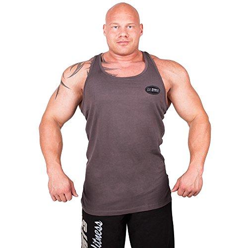 C.P. Sports Olympian Débardeur de S6 – Disponible dans Les Couleurs : Blanc, Jaune, Vert Olive, Bleu, Noir, Gris, Olympian Sport + T-Shirt d'entraînem