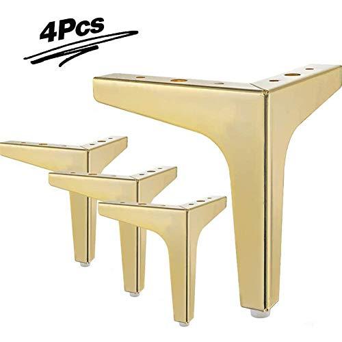 Metalen meubelpoten, 4-delige driehoek moderne meubelpoten, DIY-vervanging, banksteunpoten, voor kast, kast, bank, stoel, poef