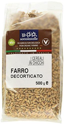 Sottolestelle Farro Decorticato - 6 confezioni da 500gr - Totale 3 kg