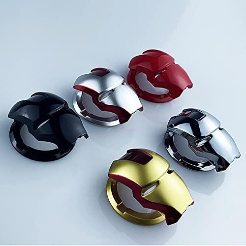 QYQS Cubierta de protección del botón de Arranque del Motor del automóvil, Cubierta Universal de la Tapa de Arranque con un botón, Cada Juego de 5 Colores