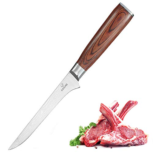 Chefs Boning Knife - 6 Inch Boning Fillet Fish and Meat Knife with Razor...