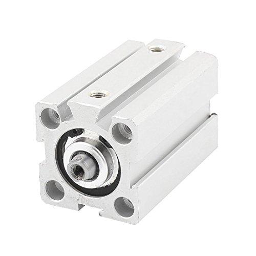SDA20x35 20mm 35mm doble acción vástago simple de aire del cilindro neumático