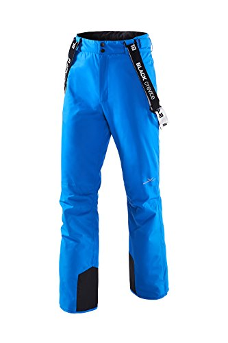 Black Crevice Herren Skihose, Electric Blue, 52