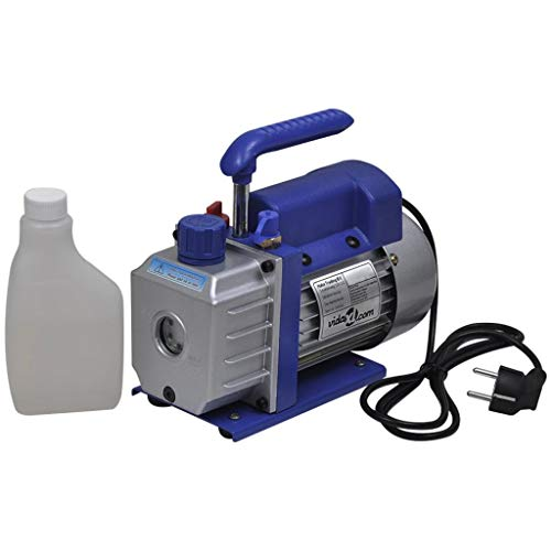 vidaXL Vakuumpumpe 50L/min Unterdruckpumpe Kompressor Vacuumpumpe Klimaanlagen