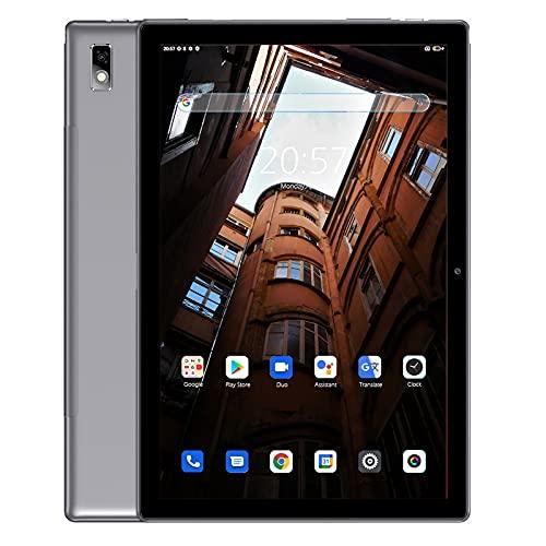 Blackview Tab9 Tablet 10 Pulgadas, Android 10 4G LTE / 5G WiFi, 4GB RAM + 64GB ROM (Escalable a 128G), 7480mAh Batería, Tablet con Cámara de 13MP + 5MP, Dual SIM/Face ID/GPS/OTG