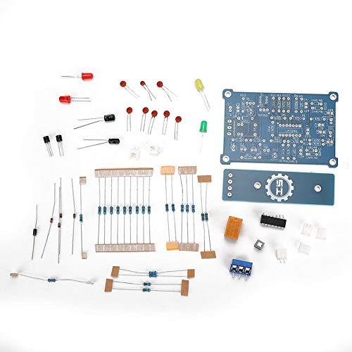 ASHATA niveauregelaarset, DIY waterniveauschakelaar board sensor controller module automatische stop/stroomvoorziening water vloeistof relais kit voor aquarium box
