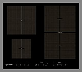 CTAI 9640FS IN placa de inducción/4 elementos de calefacción/60 cm/etapa de fusión y nivel de turbo/acero inoxidable