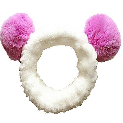 Accessoires de cheveux pour le lavage du visage, Douche, Maquillage, Spa Fashion Cute Ear Headband #06