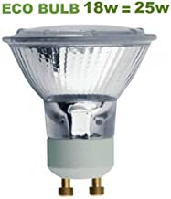 Osram 4008321934369 5 x Osram Halogen Reflector Lamp Dimmable 28w 240v 30deg GU10 Warm White 2700k 64819ES FL