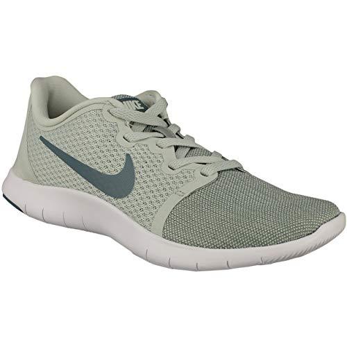 Nike Wmns Flex Contact 2, Zapatillas de Running para Mujer, Multicolor (Light Silver/Celestial Teal/Mica Green 012), 37.5 EU