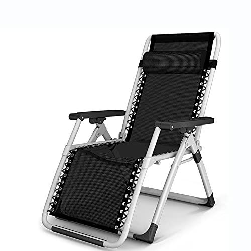 Oikupe Klappbare Strandstühle Lounge-Stühle Schwerelosigkeit Verstellbare Liegestühle Büropool Garten Garten Camping Stuhl Home Adult Elderly Lounge Chair,A1