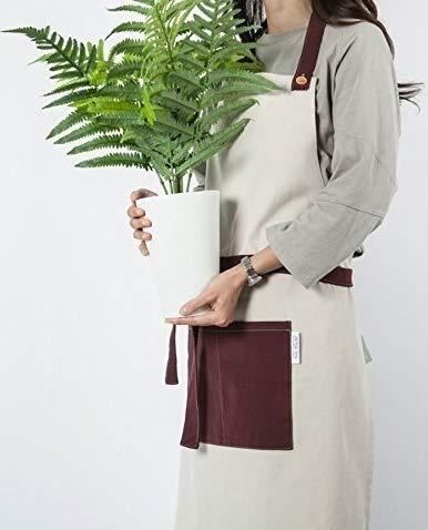 cozymomdeco Woman And Man Chef Works Handmade Apron Japanese Cross Back Organic...