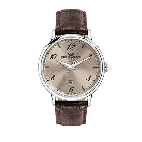Philip Watch Orologio Uomo, Collezione Truman, Analogico, Tempo E Data, Quarzo - R8251595004