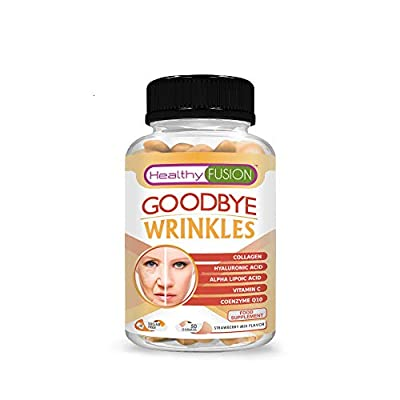 Anti wrinkles treatment | Age stop anti aging capsules with hydrolysed collagen and hyaluronic acid | Prevents wrinkles | Hydrated and wrinkle free skin | 50 gummies from Fersa Iberica