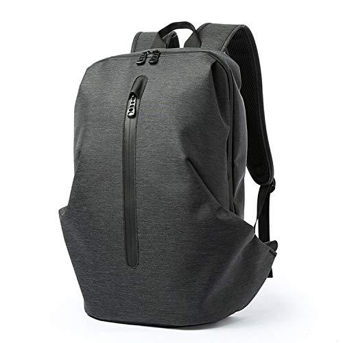 Mode CQL Tas, Heren Casual Grote capaciteit Rugzak, Anti-diefstal Laptop Rugzak, Waterafstotend Geschikt voor 14inch Laptop Compartment Knapzak Blauw/Grijs/Zwart outdoor