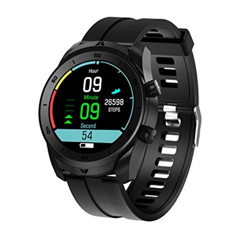 XXH El Reloj Inteligente es Adecuado para Android IOSDT79 Mujer Multi-facetado, Monitor de Ritmo cardíaco ECG, Llamada Bluetooth, Sports Business Ladies vs DT78 L13,D