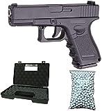 Galaxy Airsoft G.15 Type Glock 17 Culasse Métal à Ressort Couleur Noir Sachet de...