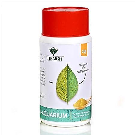 Utkarsh Fe-Aquarium (250 gm) (Fe - 11%) Chelated 100% Water Soluble Aquarium Fertilizer