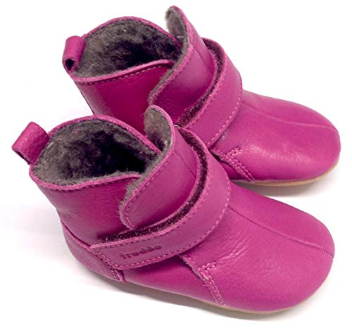 Froddo Baby Prewalkers Baby Winter-Stiefel - Fuchsia pink - Woll-Futter - G1160001-6 (23 EU, Fuchsia)