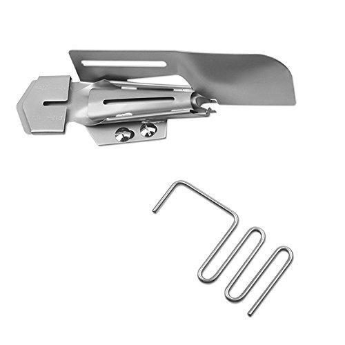 BABY LOCK Doppelfaltschrägbinder mit Führungsrechen (36 mm / 10 mm)
