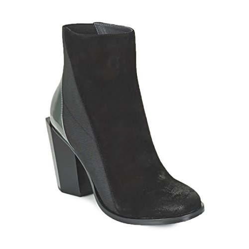 United Nude Tetra Hi Stiefelletten/Boots Damen Schwarz/Grau - 37 - Low Boots Shoes