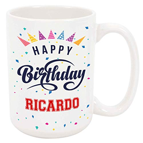 Happy Birthday Ricardo Coffee Mug