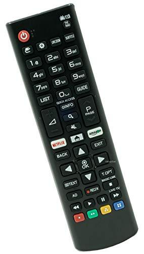 Ersatz Fernbedienung für LG AKB75095308 TV Fernseher mit Netflix & Amazon-Tasten
