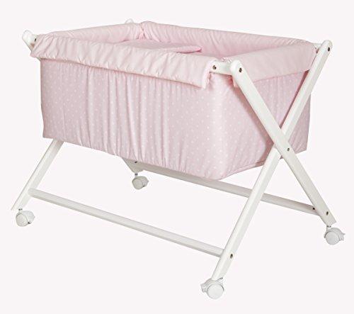 Babyline Berceau complet pour bébé avec matelas anti-étouffement