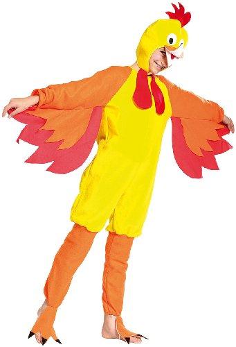 infactory Karnevalkostüm: Kinder Faschings-Kostüm Funny Chicken, Größe 152 (Mädchen Kostüm für Karneval)