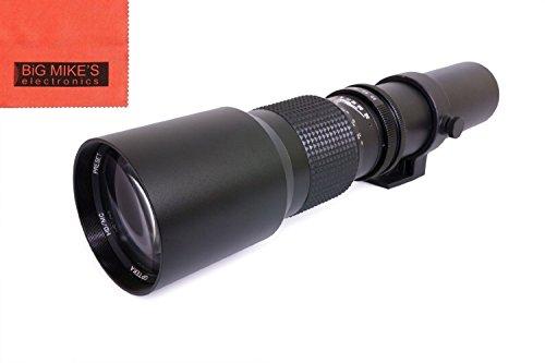 Vivitar 500mm f/8 Telephoto Lens For Sony E-Mount,...