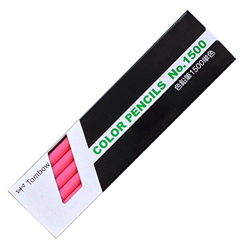 Tombow Colored Pencil 1500 Monochromatic Pink (Japan Import)