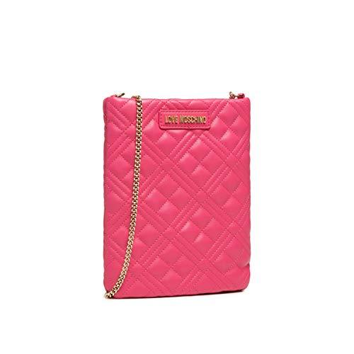 Love Moschino SS21 - Bolso de hombro para mujer, colección Primavera Verano 2021, rosa, normal