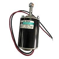 B Baosity 12V 30W 3000RPM高速CW / CCWリバーシブル永久磁石DCモーター