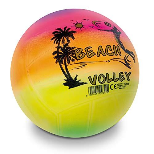 Mondo Toys Pallone da Beach VOLLEY RAINBOW, Pallavolo Bambino/Bambina, Multicolore/Arcobaleno, 02340