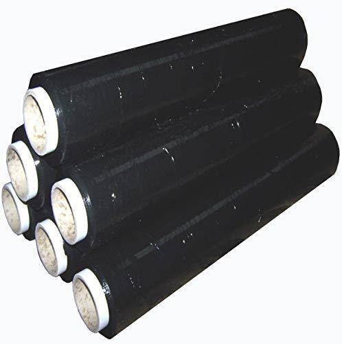 Realpack 1 film étirable noir pour palette 400 mm x 250 m