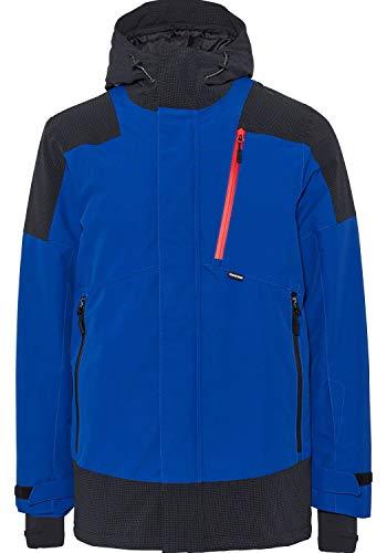 Chiemsee Herren im Materialmix Jacke, Sodalite Blau, XL