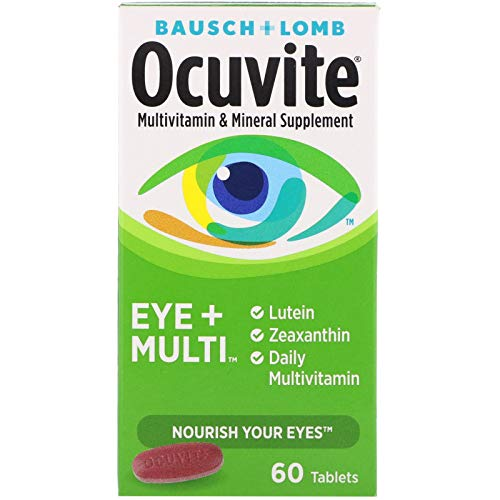 Bausch + Lomb Ocuvite Eye and Multi Multivitamin and Mineral...