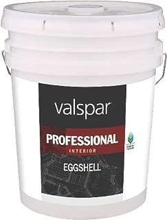 VALSPAR PAINT Interior High Hide Latex Paint White Eggshell, 5 Gallon