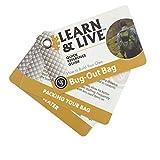 UST Conjunto de cartas educativas Learning & Live, sacos para insetos