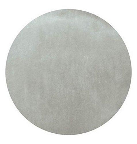 Chal - 50 Sets de table intissé ronds gris