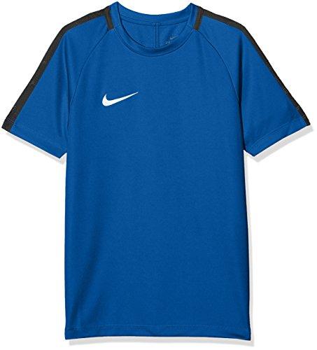 NIKE Y NK Dry Acdmy18 Top SS T-Shirt, Niños, Royal Blue/Obsidian/White, M