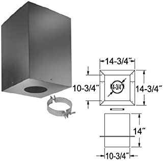 DuraVent PelletVent Cathedral Ceiling Support Box - 4in. Model Number 4PVL-CS