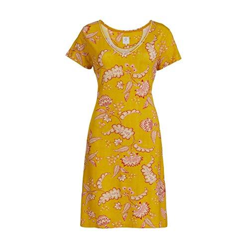 PIP Studio Djoy Jambo Nachthemd Kurzarm Yellow XXL