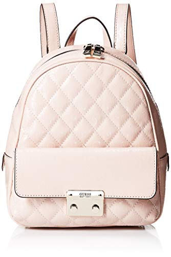 Guess Tiggy Bowery Backpack, Zaino Donna, Rosa (Blush), 11.5x27.5x23.5 cm (W x H x L)