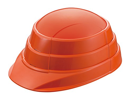 収縮式A4サイズ 防災用ヘルメット オサメット オレンジ