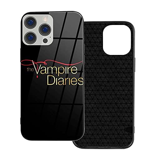Compatibile con Samsung/Xiaomi Redmi 9A/Note 9/10/8 Pro/iPhone 12/11/X/XR/7 Custodie The Vampire Diaries Cover per cellulare in vetro