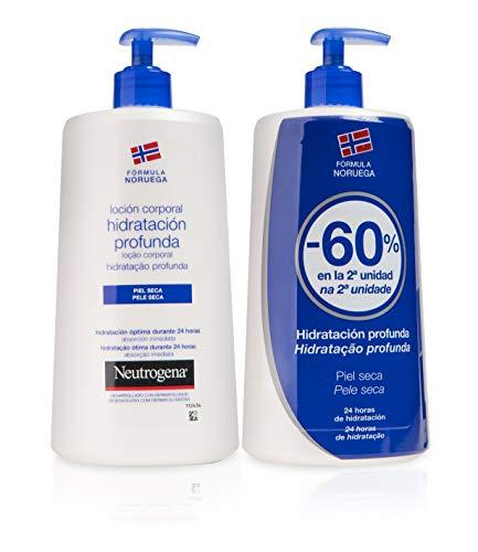 Neutrogena Loción Corporal Hidratación Profunda - 2 Unidades x 750 ml.