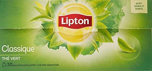 commercial petit thé vert en sachet puissant